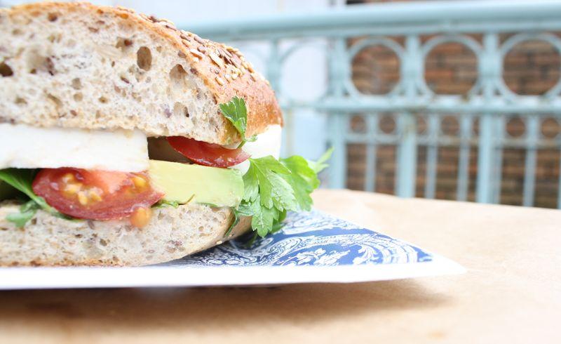 Sandwich Half Horizontal