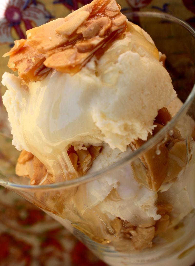 Goat's Milk Honey Ice Cream